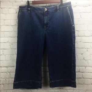 Nine West Capri Size 10 Pants Denim